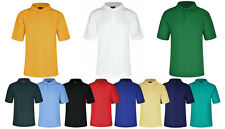 POLO SHIRTS  * GIRLS & BOYS * SCHOOL * SPORTS * 10 COLOURS*13 SIZES*TOP QUALITY