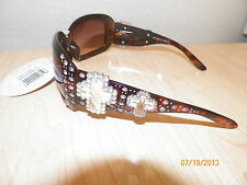 Montana West SUNGLASSES Western Bling Double Cross Rhinestone Concho Cowgirl