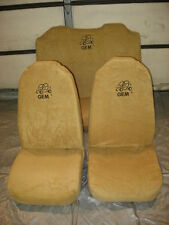 OEM 4 passenger GEM CAR / CART  Custom Bench  & Bucket  Seat Covers