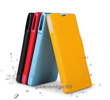 NILLKIN Fresh PU Leather Wallet Cover Case for Sony Ericsson M36h Xperia ZR