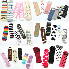 Pick 5 Pairs Baby Legs 0~5Y Toddler Boy Girl Sock Arm Leg Warmers Legging