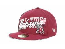 "Alabama Crimson Tide NCAA New Era 59Fifty Fitted ""Writers Block"" Hat New"