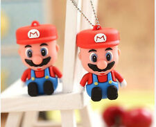Christmas Gift Genuine 4-32GB Super Mario Model USB 2.0 Flash Memory Stick