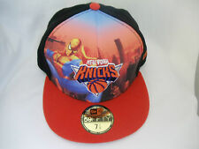 New York Knicks NBA 59fifty New Era Fitted Size Hat Cap Marvel Heroes Spider-Man