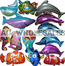 JUMBO! Fish Balloon Sea Ocean Birthday Party Supplies Sealife Sea Animals