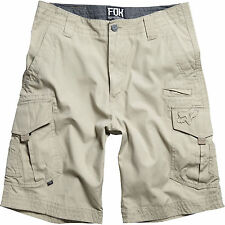 Fall 2013 Fox Racing Mens Guys Slambozo Solid Cargo Shorts Khaki Tan