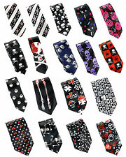 "New Fashion Mens ""Skull Style"" Wide 2,3 inches Neck ties"