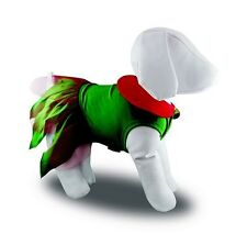 New Pet Dog Clothing Christmas Elf Girl Costume Fancy Dress Various Sizes