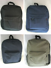 "Backpacks School Student Book Hike Day Travel Bag Colors, 16-1/2"" x 12"" x 5-1/2"""