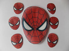 Extra Large Edible precut Spiderman cake and cupcake toppers