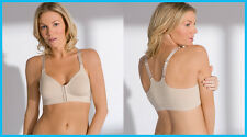 Post Surgical Front Fastening Soft Cup Breast Surgery Bra - VARIOUS CUPS SIZES