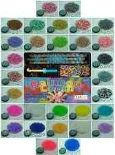 RAINBOW LOOM RUBBER BANDS - HOLIDAY GIFT PACKAGES - 30 COLORS