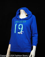 NWT Hollister by Abercrombie Women's Hoodies County Line Blue