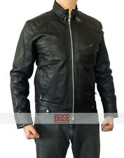 The Bourne Legacy Black Real Leather Lambskin Jacket