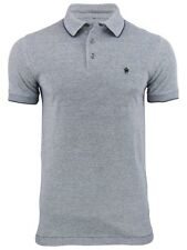 French Connection/ FCUK Oxford Pique Polo T-Shirt Short Sleeved