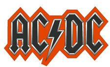 AC DC Collectible Vinyl Decal Sticker MADE IN THE USA Music BANDS  R206
