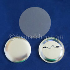 "1000 pcs. 2-1/4"" inch Standard Size Pin Badges Set for Button Makers Machines"