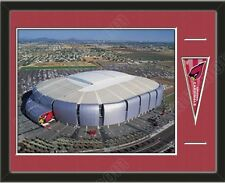 NFL Teams Aerial View Large Stadium Poster Framed W/ Matting-Choose Team