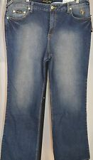 Baby Phat Women's Jeans Pants Cat Logo Stretch NWT