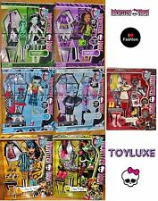 Monster High Doll I Love Fashion 3 Outfits Wardrobe Closet Clothes Set EXCLUSIVE