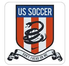 US Soccer Dont Tread On Me Vinyl Decal Sticker MADE IN THE USA Collectible R364