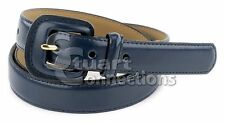 NEW Valerie Stevens Women's May 1in Navy Leather Fashion Belt PL5306400