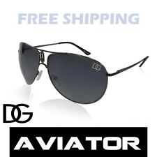 New DG Aviator Sunglasses Designer Fashion Eyewear Black Shades Celebrity Style