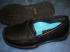 Girl Black Smooth Shoes/Slip on/School/Casual/Formal/Size 9 Toddler - 5.5 Youth