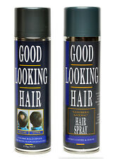 Cover Bald Spots Instantly Thicken Thinning Hair GLH Color Hair Spray Combo