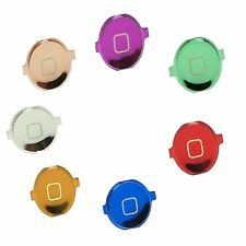 Replacement Chrome Plated Home Button Menu Button For iPhone 3G 3GS & iPhone 4
