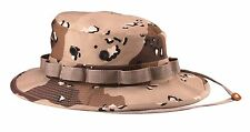 Boonie Hat Desert Camouflage Military Style Wide Brim Rothco 5814