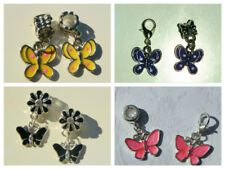 CUTE ASSORTMENT ANIMAL DROP DANGLE EUROPEAN CHARMS ~ VARIETY OF STYLES & COLOURS