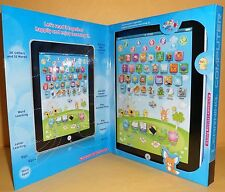 Children's Laptop Computer Tablet/Pad (Normal English Pronunciation) Educational
