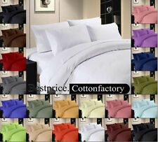 "Hotel Collection "" 4PC Sheet Set "" Solid Bedding Set 800TC 100% Egyptian cotton"