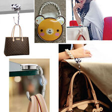 Cute Stylish Foldable Bag Purse Handbag Hook Hanger Holder - Animal Shape