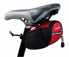 New ROSWHEEL Portable Cycling Bicycle Bike Saddle Outdoor Pouch Back Seat Bag