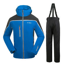 Men's Snow suit Winter Jacket Pants Outdoor Hiking Snowboard Waterproof Clothes