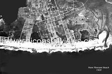 Point Pleasant Beach NJ Vintage Historic  Aerial Photographs from 1920,1933&1962