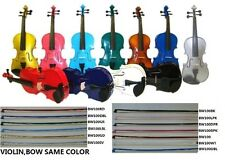 New Acoustic Violin,Case,Bow,String,Rosin~Student Beginner Band School Orchestra