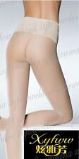 Ultra sheer velvet high waist seamless pantyhose SW13A009