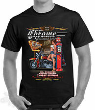 BIKER,TATTOO,ROCKABILLY,PIN UP GIRL,BIKER ROADHOUSE,MOTORCYCLE T SHIRT,all sizes