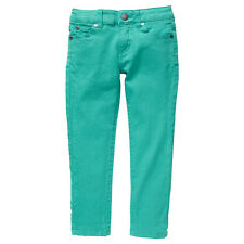 Girls Brand New With Tags Aqua Green Stretch Jeans - Size 1,2,3,5