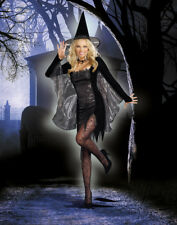 New Halloween Costume Sexy Black Magic Witch Costume Cosplay Dress Dreamgirl
