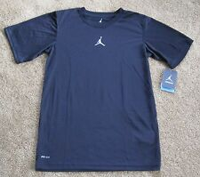 Nike Boys Jumpman Black Dri-Fit Training Basketball Shirt   M,L NEW