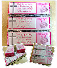 Personalised KitKat Chocolate Christening Party Favours Wrappers or Pre-made N13