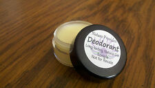 Natural Deodorant Lotion (Sample Size)- made with Vegan & Organic Ingredients