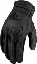*Fast Shipping* ICON 1000 Rimfire Glove (Black) Motorcycle Gloves