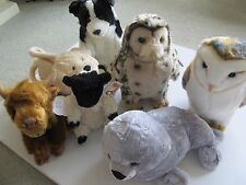 SELECTION OF SOFT TOYS - DOGS, CATS AND BEARS