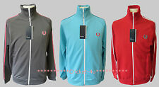 BNWT Fred Perry Mens Zip Up Track Jacket Top RRP £64.99