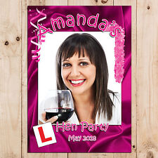 Personalised Hen Night Party PHOTO Poster Banner N22 ~ Favours supplies